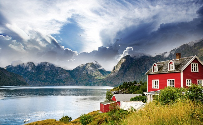 будиночок у Норвегії