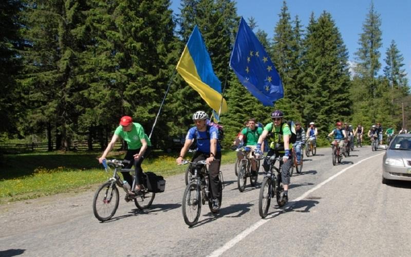 велотуриз в Україні