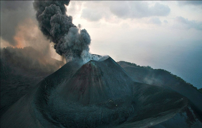 вулкан баррен